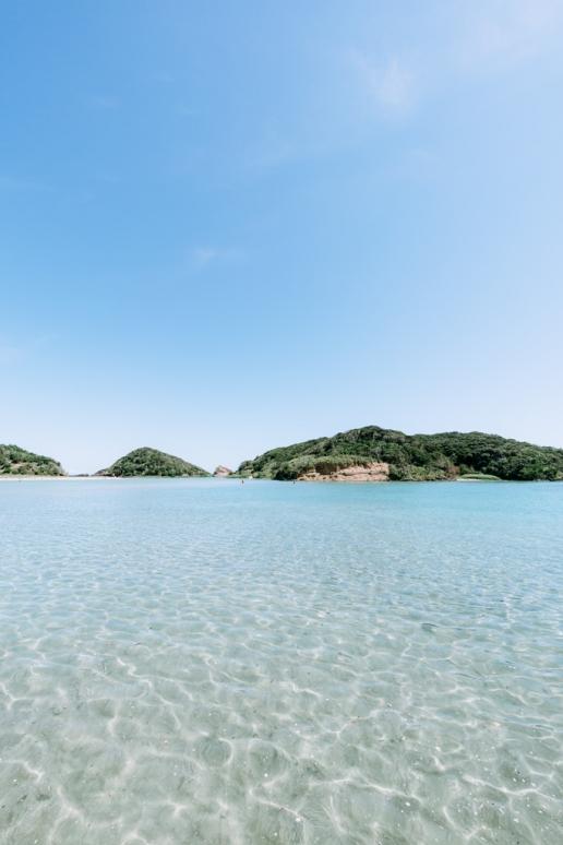 Clear water of Iki Island, Nagasaki, Japan