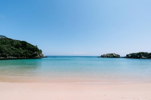 Beautiful beach of Iki Island, Nagasaki, Japan