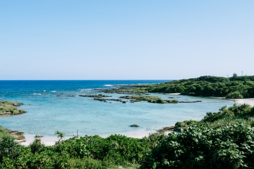 View from Villa Kikai, Kikaijima Island, Kagoshima, Japan