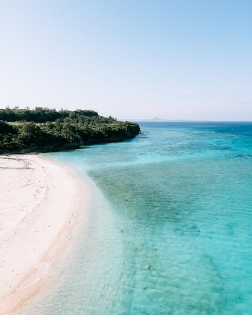 Sesoko Island beach, Okinawa, Japan