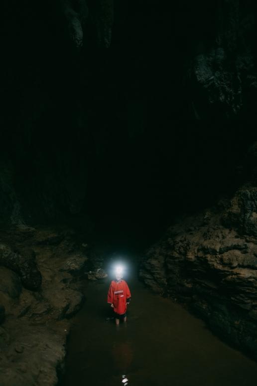 Iriomote jungle cave, Okinawa, Japan