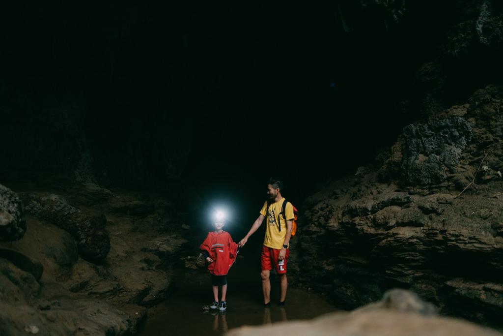 Iriomote limestone cave, Okinawa, Japan