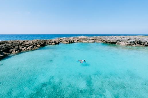 Tropical lagoon snorkeling, Kikaijima, Amami Islands, Kagoshima, Japan