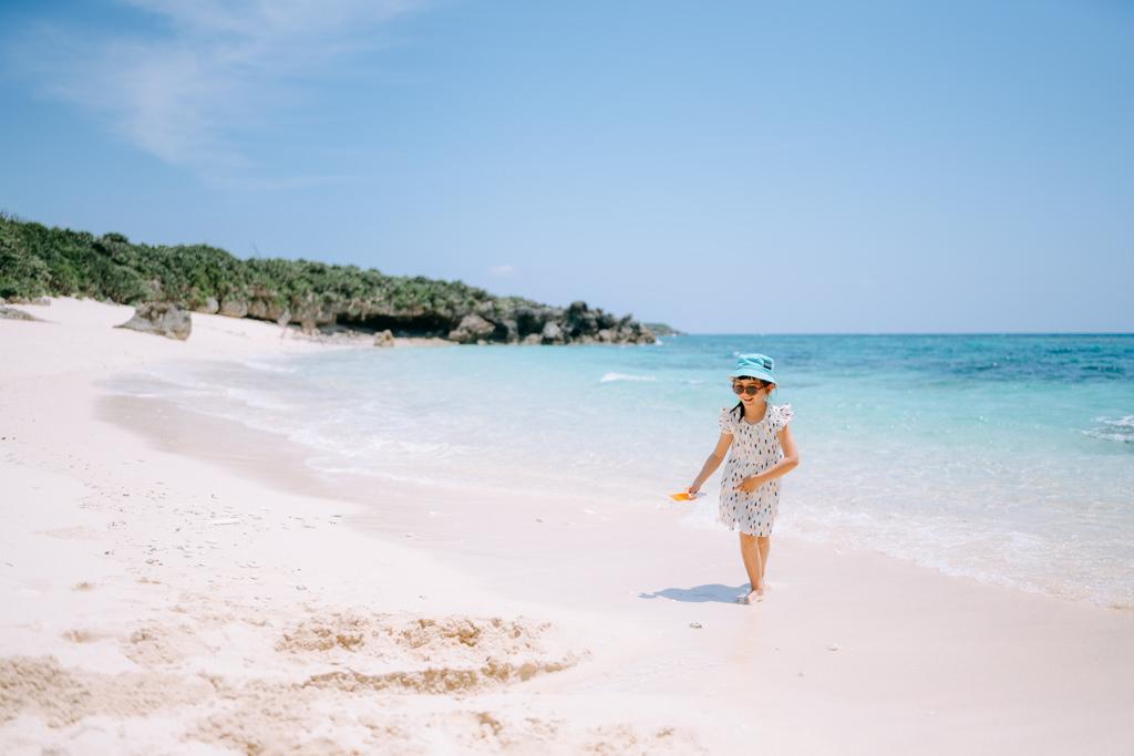 Secluded tropical beach, Miyako Island, Okinawa, Japan