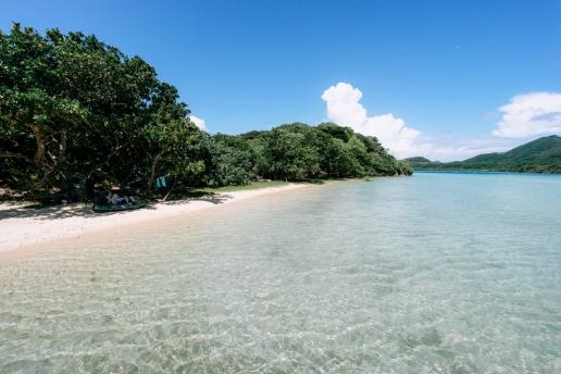 Kabira Bay inner beach, Ishigaki Island, Okinawa, Japan