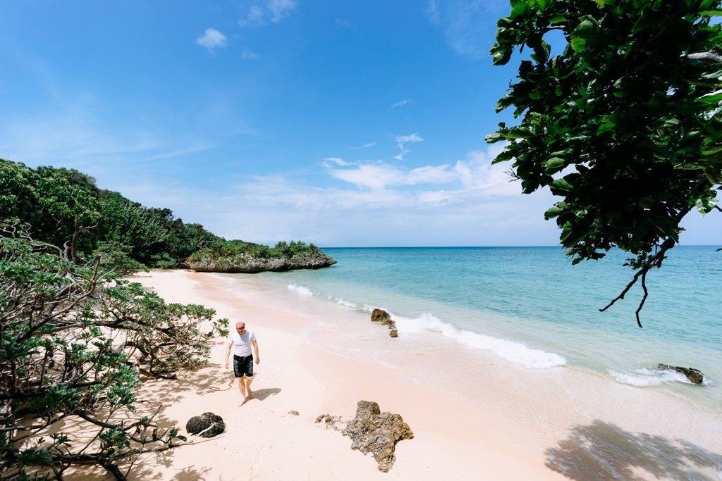 One of many secluded tropical beaches on Ishigaki Island, Okinawa, JapanOne of many secluded tropical beaches on Ishigaki Island, Okinawa, Japan