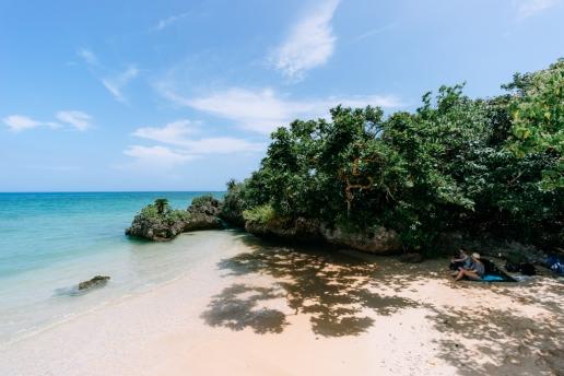 One of many secluded beaches of Ishigaki Island, Okinawa, Japan