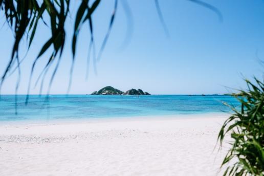 Aharen Beach, Tokashiki Island of Kerama Islands, Okinawa, Japan