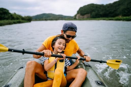 Mangrove river kayaking, Tanegashima Island, Kagoshima, Japan