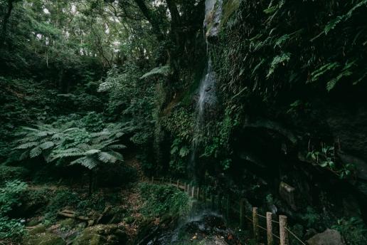 Uramigataki Falls, Hachijo Island, Tokyo