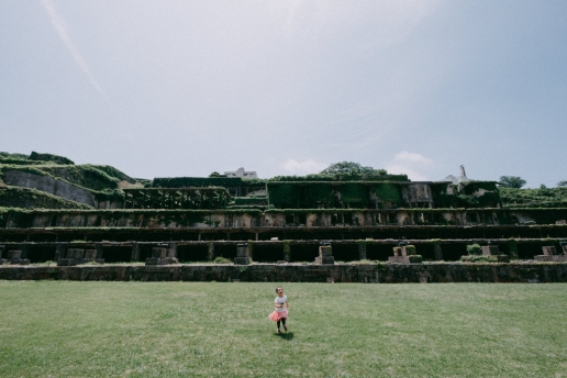 Gold mine ruins, Sado Island, Niigata, Japan