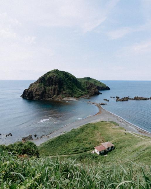 Futatsugame Beach, Sado Island, Niigata, Japan