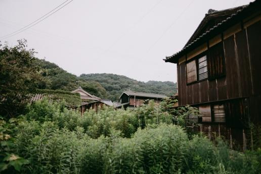 Manabeshima main village, Okayama, Japan