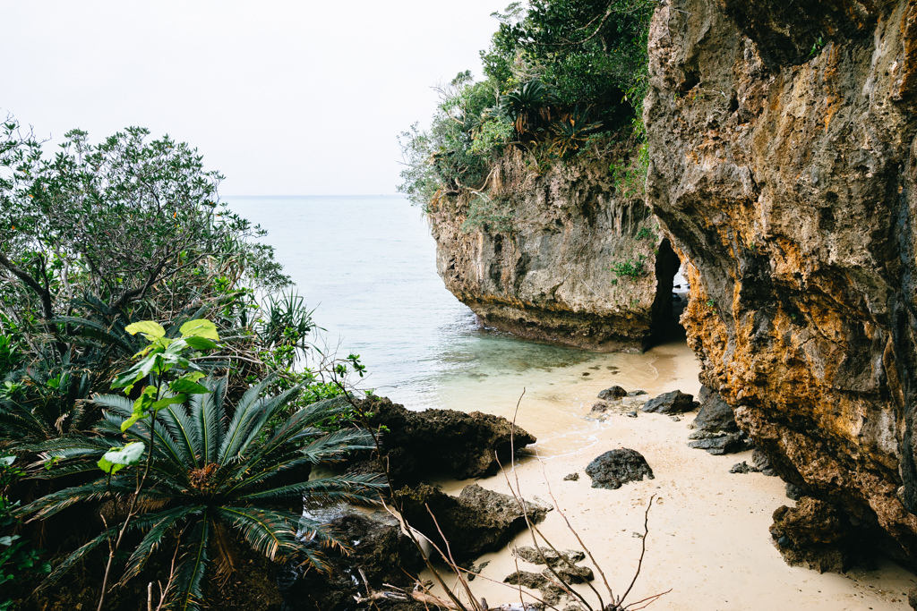 One of many secluded beaches of Southern Japan, Ishigaki Island