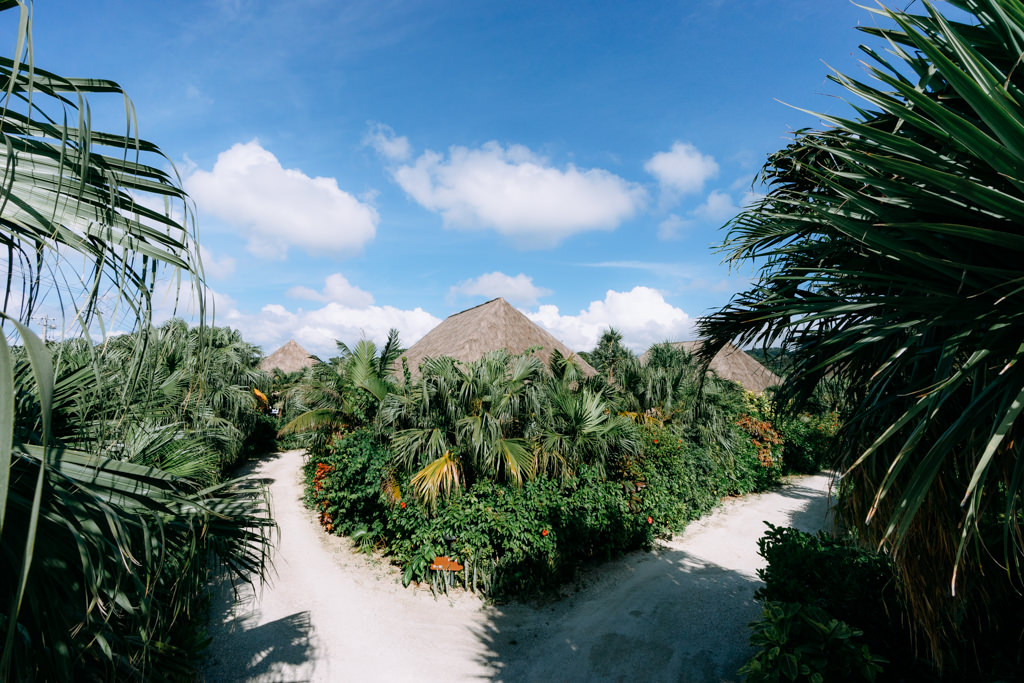 Beautiful cottage hotel of Ishigaki Island, Okinawa, Tropical Japan