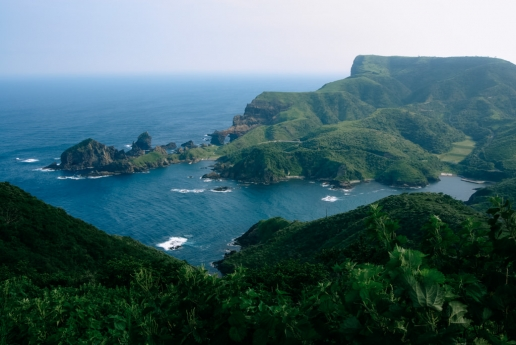 Beautiful landscape of Okinoshima Islands, Shimane, Japan