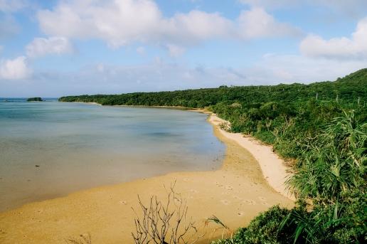 Untouched southern Japanese coastline, Iriomote Island, Okinawa, Japan