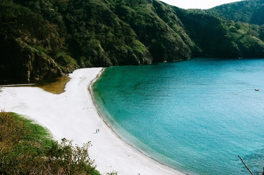 One of many beautiful beaches on Chichijima, Ogasawara Islands, Japan