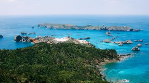 Unesco World Natural Heritage site of Ogasawara Islands, Japan
