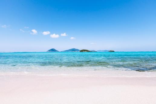 Tropical paradise of Japan, Gushikawa Island, Okinawa