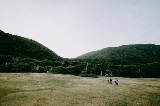 Beautiful free campsite of Niijima Island, Tokyo