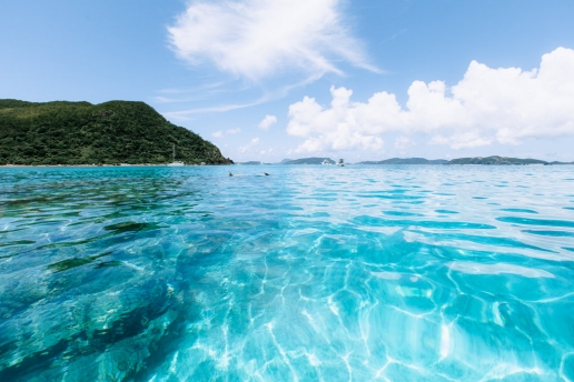Clearest water of Tropical Japan, Kerama Islands National Park, Okinawa