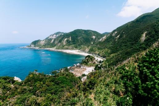 Tokyo island coastline, Kozushima