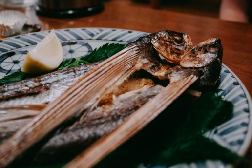 Grilled flyingfish, Hachijojima, Tokyo