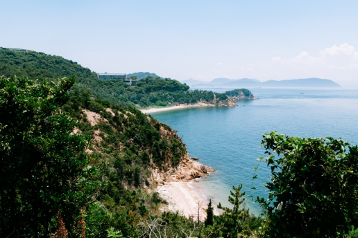 Japan's Art Island of Naoshima with museums, beaches and mountains