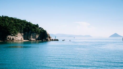 Islands of Seto Inland Sea, Naoshima, Japan