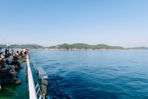 Naoshima - Takamatsu ferry, Seto Inland Sea, Japan