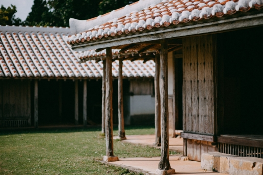Traditional Okinawan house, Izena Island