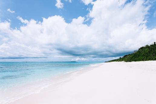 White sand beach of Tropical Japan, Miyako-jima Island, Okinawa