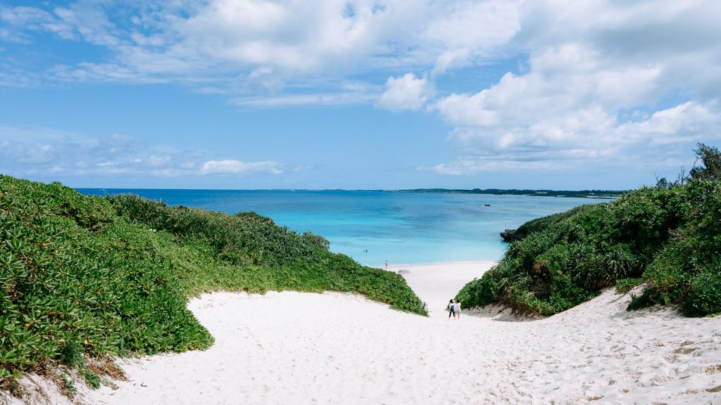 Iconic beach of Miyakojima, Okinawa, Japan