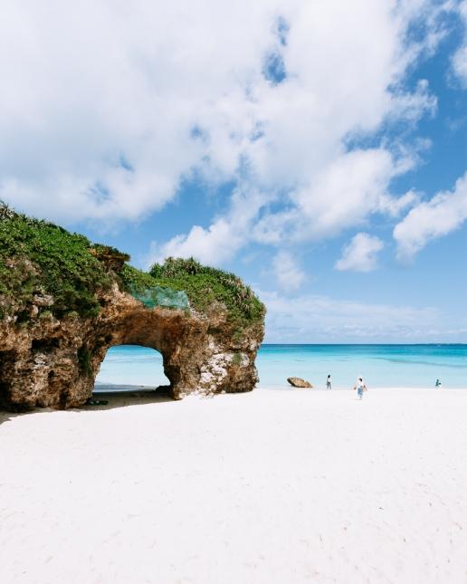 Sunayama beach of Miyako-jima, Okinawa, Tropical Japan