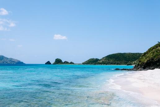 Beautiful coastline of subtropical Japan, Zamami Island, Okinawa
