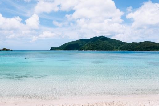 One of many beautiful beaches of Amami Oshima, Japan