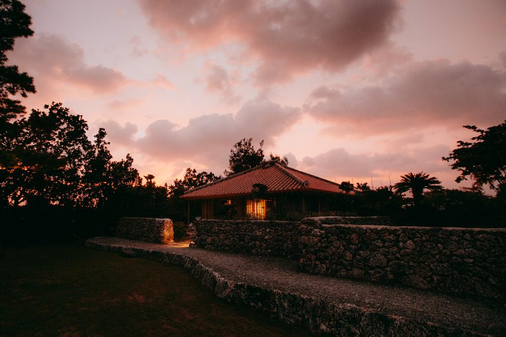 Miyakojima accommodation rental cottage, traditional Okinawa house