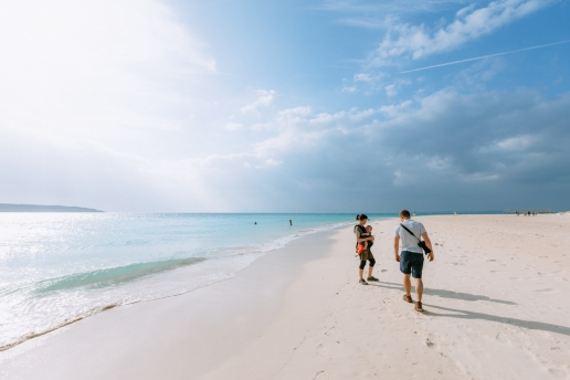 Yonaha Maehama Beach, Miyako-jima Island, Okinawa, Japan