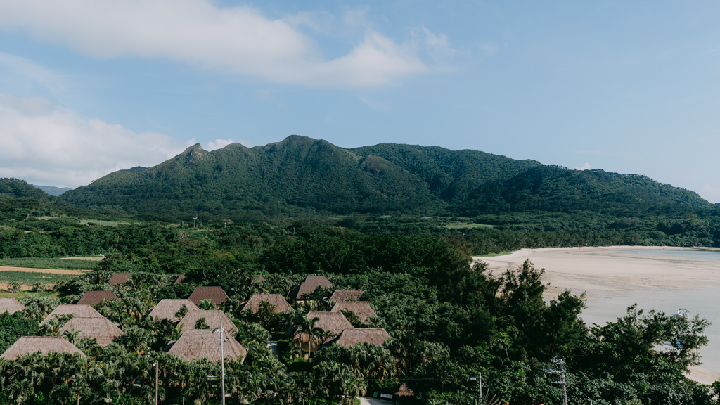 Traditional cottage hotel, Ishigaki Island, Okinawa, Japan
