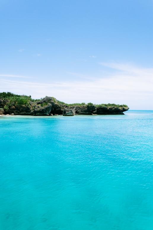 Idyllic tropical water of southern Japan, Yaeyama Islands