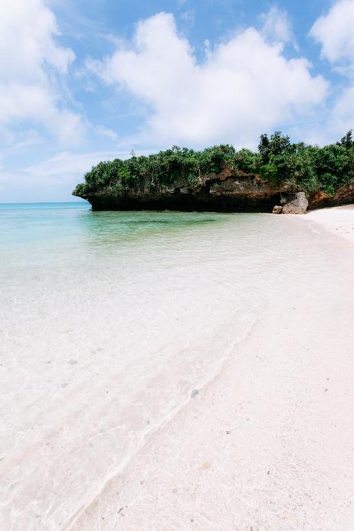 One of many deserted tropical beaches on southern Japanese islands, Yaeyama