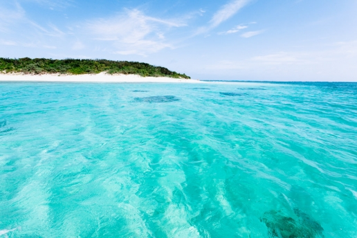 Deserted tropical island of Japan, Yaeyama Islands, Okinawa