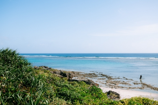 Snorkeling beach of Kuroshima, Yaeyama Islands