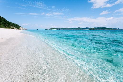 Clearest water, Kerama Islands, Okinawa, Japan