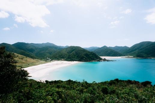 One of the best 100 beaches of Japan, Fukuejima of the Goto Islands, Nagasaki