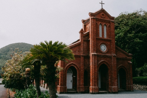 Old church on Fukuejima of the Goto Islands, Nagasaki