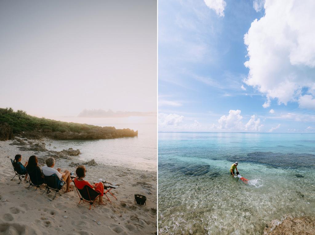 Secluded tropical beach, Shjimoji Island of the Miyako Islands, Okinawa, Japan