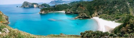 Scenic landscape of Tropical Japan, Ogasawara Islands Unesco World Natural Heritage site