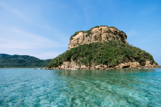 Sotobanari Island of the Yeayama Islands, Okinawa, Japan